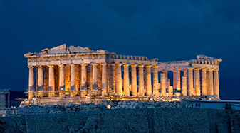 party at the parthenon